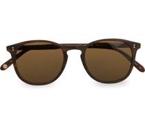 Kinney 49 Sonnenbrille Matte Brandy Tortoise/Brown Polari