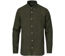 Levon Leinenhemd Green