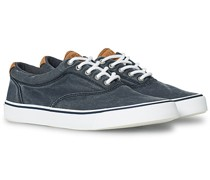 Striper II Canvas Sneaker Dark Navy
