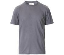 Cashmere Kurzarm Tshirt Grey