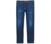 Rex Stretch Organic Baumwoll Brush Jeans Blue