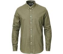 Liam Leinenhemd Deep Lichen Green