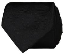 Krawatte 7,5 cm Silk Krawatte Black