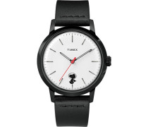 Marlin Automatic Snoopy Space Traveller 40mm Black