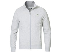 Full Zip Pullover Argent Chine