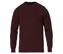 Fouesnant Classic Pullover Burgundy