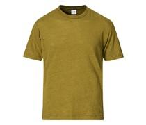 Dylan Leinen Tshirt Olive Green