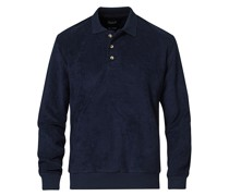 Longsleeve Terry Polo Navy
