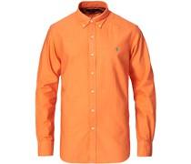 Slim Fit Garment Dyed Oxfordhemd