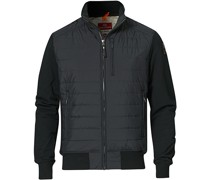 Elliot Fleece Hybrid Jacke Black