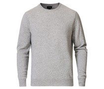 Cashmere Rundhals Heather Grey