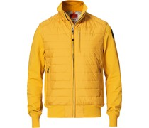 Elliot Fleece Hybrid Jacke Pumpkin
