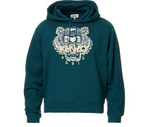 Icon Tiger Hoodie Green