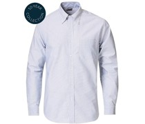 Regent Fit Supima Baumwoll Oxfordhemd White/Blue