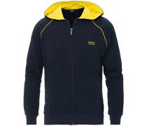Loungewear Full-Hoodie mit Reißverschluss Navy