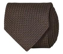 Silk Grenadine 8 cm Krawatte Brown
