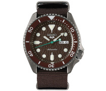 5 Sports Mens 43mm 100m Automatic Nato/Brown Dial