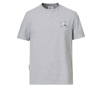 Single Tori Bird Tshirt Pale Grey Mel.