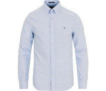 Slim Fit Oxfordhemd Capri Blue