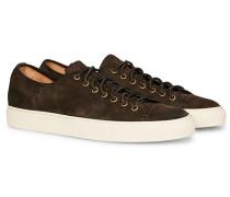 Suede Sneaker Dark Brown