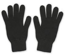 Stricked Cashmere Handschuhe Black