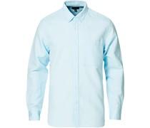 Solid Köperhemd Teal Blue