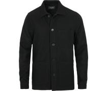 Original Überhemd Wolljackett Navy