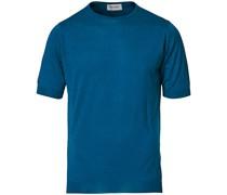 Belden Woll/Baumwoll Tshirt Prussian Blue