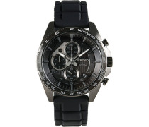 Chronograph 44mm Rubber/Black Dial
