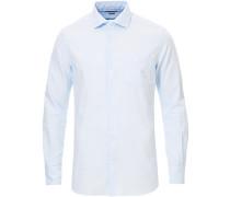 Slim Fit Pocket Oxfordhemd Light Blue