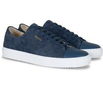 Cap Toe Sneaker Navy Suede