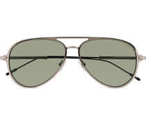 MB0059S Meisterstück Sonnenbrille Ruthenium/Green