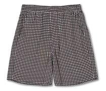 Pool Shorts Navy Print