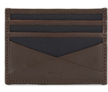 M/S Kartenhalter Navy/Dark Brown
