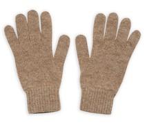 Stricked Cashmere Handschuhe Otter