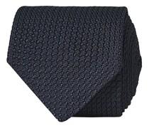 Silk Grenadine 8 cm Krawatte Navy
