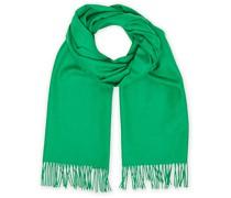 Solid Woll/Kaschmirschal Green