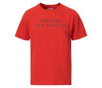 Miller Standard Tshirt Chili Red