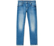 Jay Active Indigo Stretchjeans Ice Blue