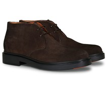 Wembley Desert Stiefel Dark Brown Suede