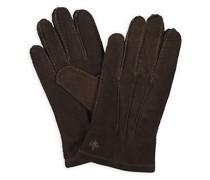 Suede Handschuhe Dark Brown