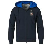 FE1579 Full Zip Hood Sweatshirt Navy