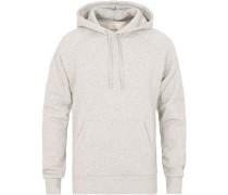 Hoodie Sweatshirt Grey Melange