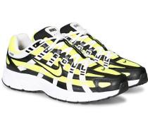 P-6000 Sneaker Black/Lemon