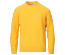 LambsWoll Fox Head Pullover Buttercup