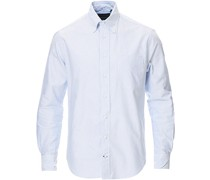 Buttondown Striped Oxfordhemd White/Blue