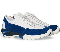 Possgno Track Sneaker White Bomberjacke/Klein Blue Suede