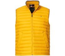 Packable Daunenweste Courtside Yellow