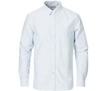 Slim Fit Oxford Streifenhemd Blue/White