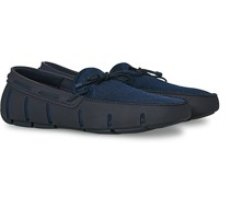 Braided Lace Loafer Navy
